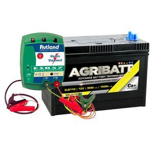 Rutland ESB57 Energiser and Agribatt 100Ah Battery Kit