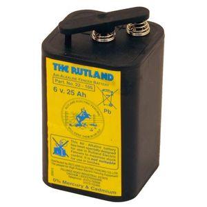 Rutland 6V 25Ah Air Alkaline ESB25 Electric Fence Battery 482105