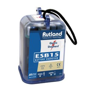Rutland ESB15 Electric Fence Battery Energiser