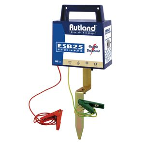 Rutland ESB25 Electric Fence Battery Energiser