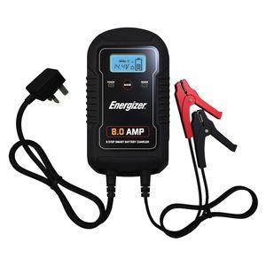 Energizer 6V/12V 8A 9 Step Smart Battery Charger
