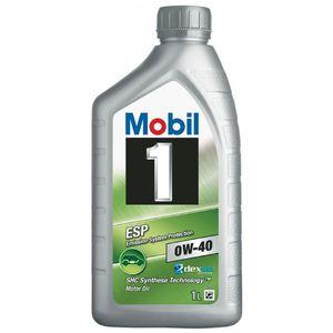 Mobil 1 ESP 0W-40 Oil - 1 Litre