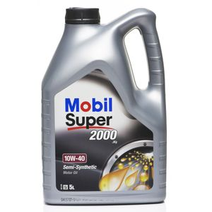 Mobil Super 2000 X1 10W-40 Oil - 5 Litre