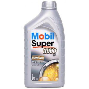 Mobil Super 3000 X1 5W-40 Oil - 1 Litre