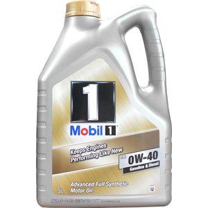 Mobil 1 FS 0W-40 Oil - 5 Litre