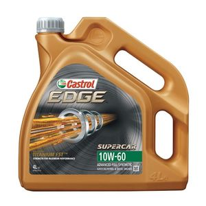 Castrol EDGE Supercar 10W-60 Oil 4L