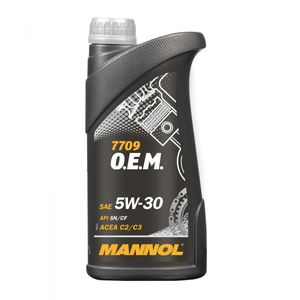 Mannol 7709 OEM 5W-30 Engine Oil 1L