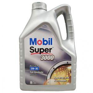 Mobil Super 3000 X1 Formula FE 5W-30 Oil - 5 Litre