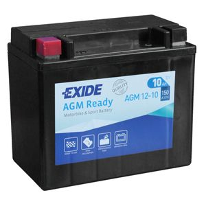 AGM12-10 Exide Motorcycle Battery 12V (4916)