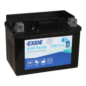 AGM12-4 Exide Batterie De Moto 12V (4908)