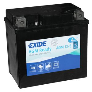 AGM12-5 Exide Motorcycle Battery 12V (4910)