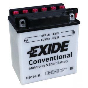 Exide EB10L-B 12V Conventional Batterie De Moto