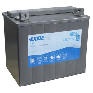 GEL12-30 Exide 12-30 Motorcycle Battery 12V 30Ah (53030)