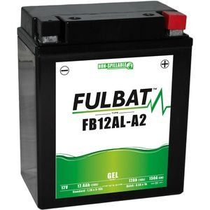FB12AL-A2 GEL Fulbat Motorcycle Battery YB12AL-A2