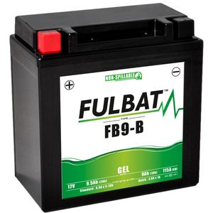 FB9-B GEL Fulbat Motorcycle Battery YB9-B