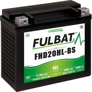 FHD20HL-BS GEL Fulbat Motorcycle Battery YHD20HL-BS