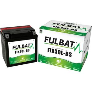 FIX30L-BS MF Fulbat Batterie de moto YIX30L-BS