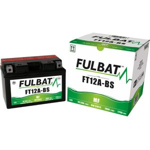 FT12A-BS MF Fulbat Motorcycle Battery YT12A-BS
