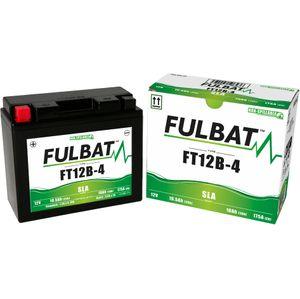 FT12B-4 AGM Fulbat Motorcycle Battery YT12B-4