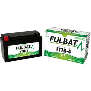 FT7B-4 AGM Fulbat Motorcycle Battery YT7B-4