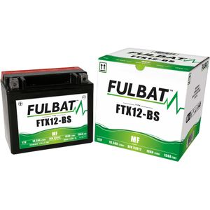 FTX12-BS MF Fulbat Motorcycle Battery