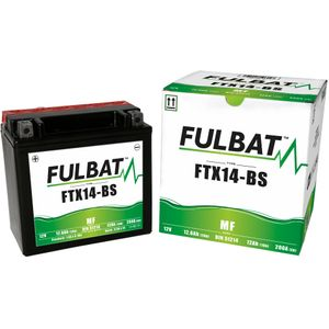 FTX14-BS MF Fulbat Motorcycle Battery