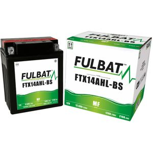 FTX14AHL-BS MF Fulbat Motorcycle Battery YTX14AHL-BS