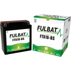 FTX16-BS MF Fulbat Motorcycle Battery YTX16-BS