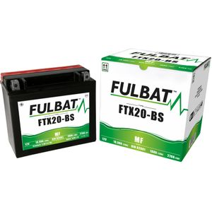 FTX20-BS MF Fulbat Motorcycle Battery YTX20-BS