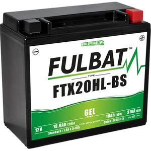 FTX20HL-BS GEL Fulbat Motorcycle Battery