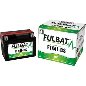 FTX4L-BS MF Fulbat Motorcycle Battery