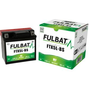 FTX5L-BS MF Fulbat Motorcycle Battery