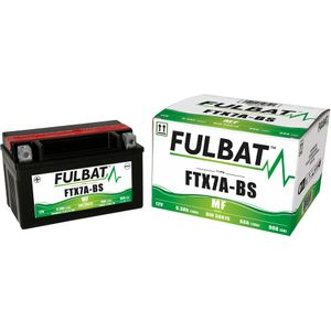 FTX7A-BS MF Fulbat Motorcycle Battery