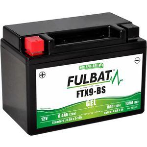 FTX9-BS GEL Fulbat Motorcycle Battery