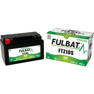 FTZ10S AGM Fulbat Motorcycle Battery
