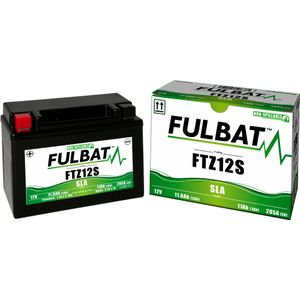 FTZ12S AGM Fulbat Motorcycle Battery