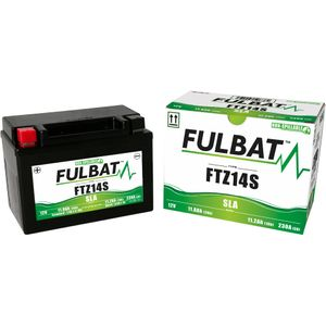 FTZ14S AGM Fulbat Motorcycle Battery