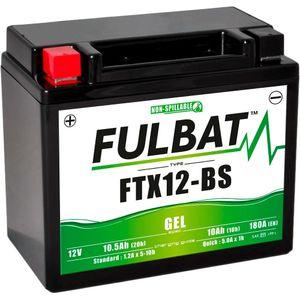 FTX12-BS GEL Fulbat Batterie de moto YTX12-BS