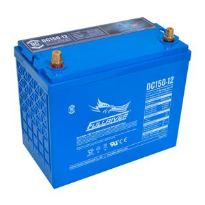 DC150-12 FullRiver DC Series Deep Cycle AGM Leisure Battery 150Ah