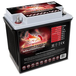 FT200L Full Throttle High Performance 14Ah TPPL AGM Battery (PC535)