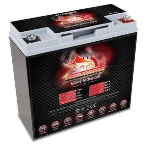 FT230 Full Throttle 20Ah TPPL AGM Batterie (PC680)