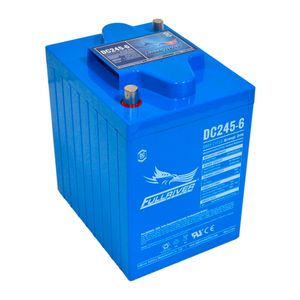 DC245-6 FullRiver DC Series Deep Cycle AGM Leisure Battery 245Ah (DIN)