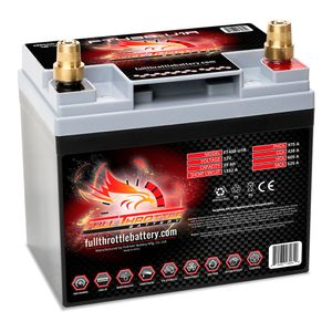 FT438-U1R Full Throttle High Performance 35Ah TPPL AGM Battery (U1R)