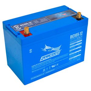 DC105-12 FullRiver DC Series Deep Cycle AGM Leisure Battery 105Ah