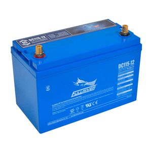 DC115-12 FullRiver DC Series Deep Cycle AGM Leisure Battery 115Ah