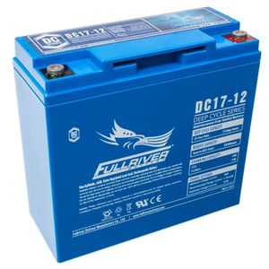 DC17-12 FullRiver DC Series Deep Cycle AGM Leisure Battery 17Ah