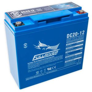 DC20-12 FullRiver DC Series Deep Cycle AGM Leisure Battery 20Ah