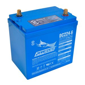 DC224-6 FullRiver DC Series Deep Cycle AGM Leisure Battery 224Ah (GC2)