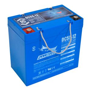 DC55-12 FullRiver DC Series Deep Cycle AGM Leisure Battery 55Ah