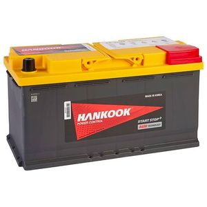 019 AGM Hankook Start Stop Car Battery 12V 95AH SA59520